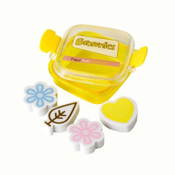 Brownies Erasers - Pack of 4