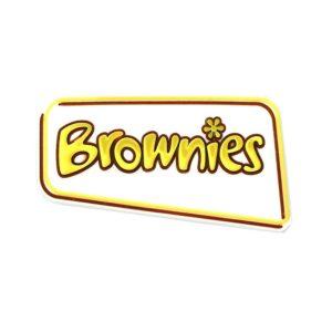 Brownies PVC Badge