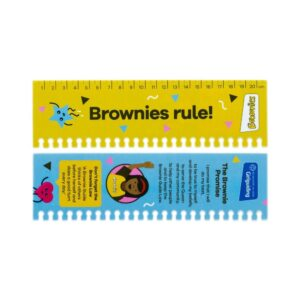 Brownies Ruler Page Marker