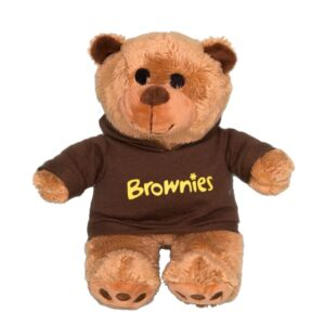Brownies Bear Wearing Hoodie