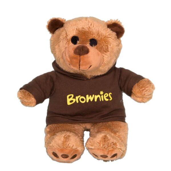 Brownies Bear Wearing Hoodie
